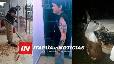 FIN DE SEMANA CON VARIOS DETENIDOS POR LA POLICÍA