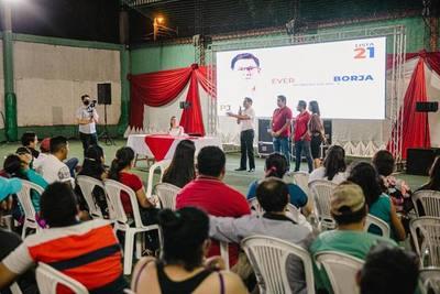 Jóvenes colorados se decepcionan de dirigentes y vuelcan su apoyo a Rojas Borja