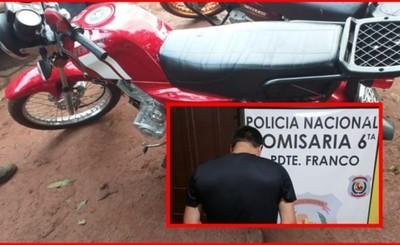 Le exigieron el pago de G. 1.000.000 para devolverle su moto hurtada