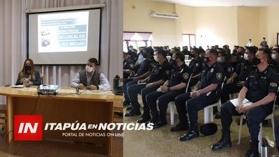 JUZGADO ELECTORAL REALIZÓ JORNADA DE CAPACITACIÓN A POLICÍAS DE CARA A LAS ELECCIONES