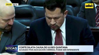 Corte dilata causa de Ulises Quintana