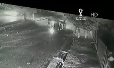 Dos heridos tras vuelco de camioneta en Villa Elisa