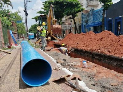 Essap anunció el cambio de 100 km de tuberías de distribución de agua en Asunción y área metropolitana