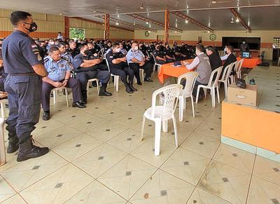 Justicia Electoral y Policía Nacional coordinan trabajos de seguridad para las elecciones