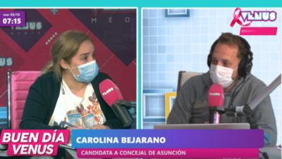 Elecciones Municipales 2021: Carolina Bejarano, candidata a concejal de Asunción, nos comentó sobre sus propuestas