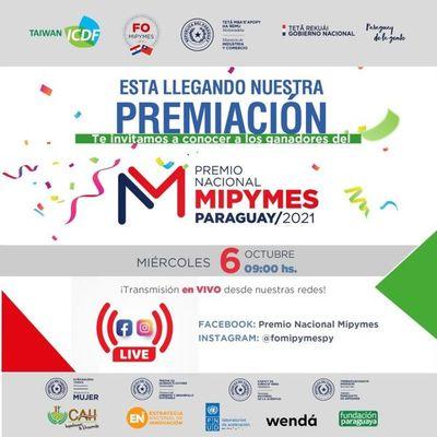 Premiación de Gala Nacional Mipymes será mañana en Asunción