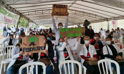 """El Gobierno llama a los médicos """"héroes"""" solo para el marketing, critica sindicato"""