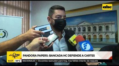 Pandora Papers: Un molesto Pedro Alliana defiende a Horacio Cartes