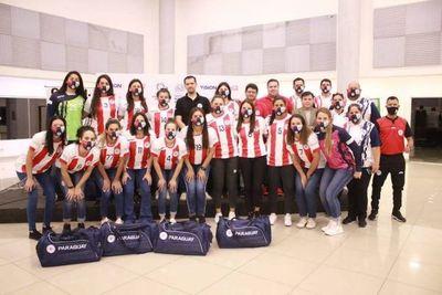 Paraguay debuta ante Uruguay en el Centro Sur de Handball