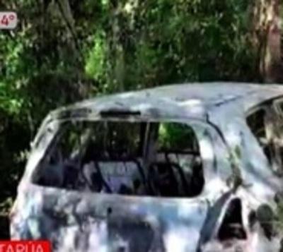Encuentran vehículo que habría sido utilizado en atraco a gasolinera