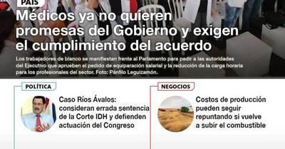 La Nación / LN PM: Las noticias más relevantes de la siesta del 5 de octubre