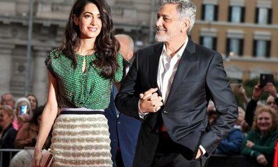 """George Clooney no le dejará ver su película """"Batman y Robin"""" a su esposa"""