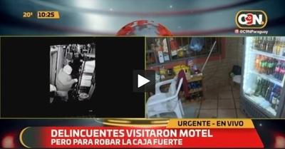 Inseguridad: Asaltan motel y se llevan caja fuerte