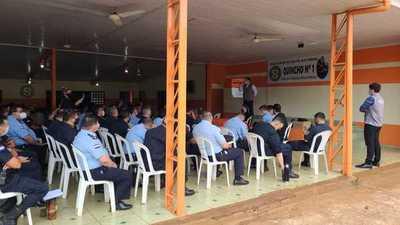 Realizan charla y planificación sobre sistema de seguridad para las elecciones municipales