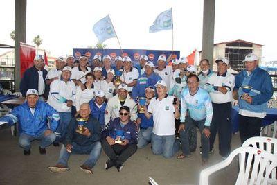Club Sajonia: casi 200 pescadores participaron en jornada de pesca embarcada
