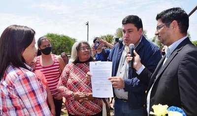 Exoneran a pobladores de Nueva Asunción •