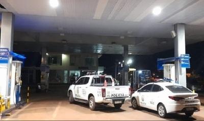 Asaltantes balean a policía Lince y roban G 95 millones de estación de servicios