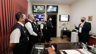 Seguridad Civil del TSJE se prepara para municipales