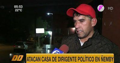 Ñemby: Dirigente de la ANR fue atacado por apoyar a candidato del PLRA