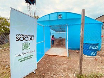 Gobierno modernizó vivero de producción de plantines de horticultores de Ayolas