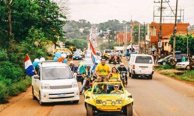 Roque Godoy cierra su campaña con una multitudinaria caravana – Diario TNPRESS