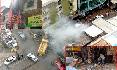 Millonarias pérdidas en incendio en local de venta de frazadas en el centro de CDE – Diario TNPRESS