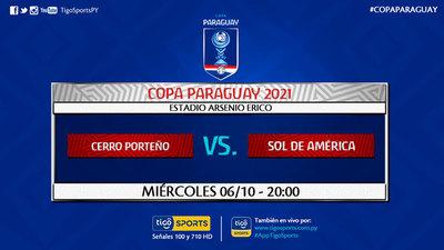 Cerro Porteño recibe en su barrio a Sol de América