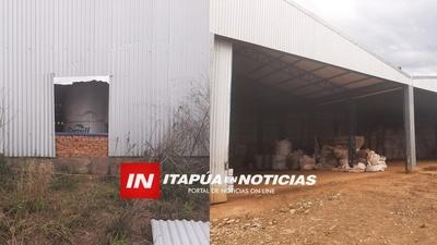DENUNCIAN MILLONARIO HURTO DE AGROQUÍMICOS DE UN ESTABLECIMIENTO