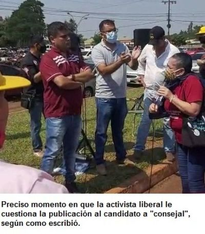 "Operadora ""acevedista"" insta a sus colegas docentes a atacar a Santiago Benítez"