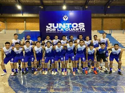 La V azul se prepara para el nacional de Fútbol de Salón