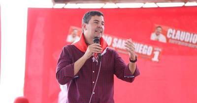 """La Nación / Santiago Peña: """"Sueño y estoy seguro que el domingo el Partido Colorado va a dar una gran elección"""""""