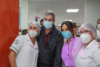 Mario Abdo: «Como presidente de los paraguayos seguiré trabajando con todos los sectores políticos»
