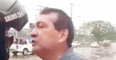La Nación / Pedirán informe sobre suspensión de lince que increpó a un senador