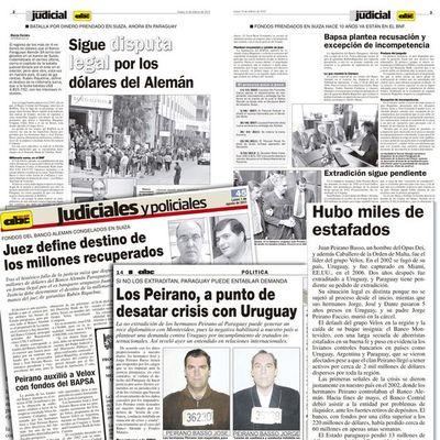 Los Peirano crearon cinco offshore tres años antes de crisis financiera