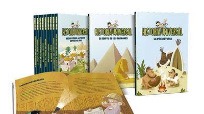 Colorida colección sobre Historia Universal para niños  llega con ÚH