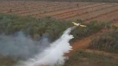 La región del Chaco sigue sufriendo incendios forestales