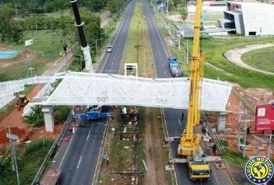 """DNCP inhabilita por 1 año a Engineering por Pasarela de """"oro"""" en Luque •"""