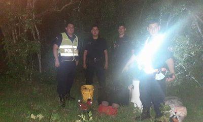 Policías encuentra en el bosque objetos robados de una vivienda – Diario TNPRESS