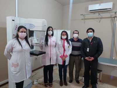 Mamógrafo del Hospital Distrital de Hernandarias ya está en funcionamiento