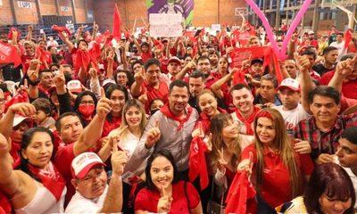 Multitudinario cierre de campaña de Federico González en Ciudad del Este – Diario TNPRESS