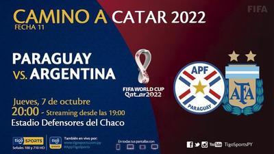 Paraguay, por puntos claves de local