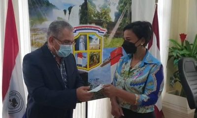 Gobernación aporta Gs. 50 millones para festejos de aniversario de Pte. Franco