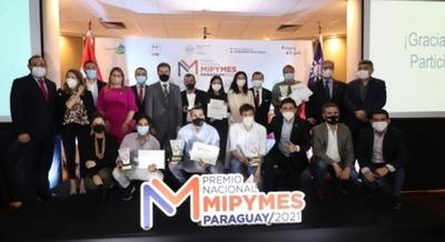Diez empresas recibieron el Galardón Nacional Mipymes 2021