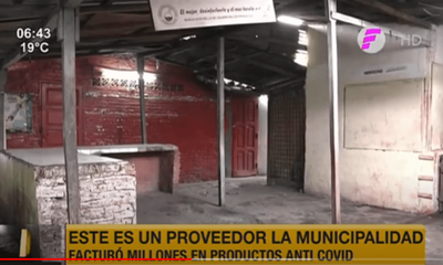 Esta es la empresa que proveyó detergentes a la Municipalidad de Asunción