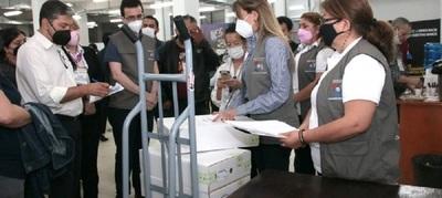 Justicia Electoral concluyó auditorías con presencia de apoderados políticos