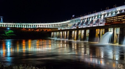 Reabren al público la Iluminación Monumental de la represa