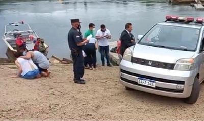 Encuentran cuerpo del inocente de 2 años que cayó al arroyo Acaraymi el domingo último
