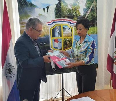 Comuna franqueña recibe G. 50 millones de la Gobernación para festival por aniversario