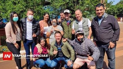PABLO NOVOSAD Y SU COMPROMISO DE IMPULSAR OBRAS DE PROGRESO EN ENCARNACIÓN.