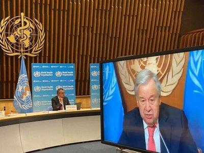 La ONU presentó un plan para vacunar al 40% de la población mundial
